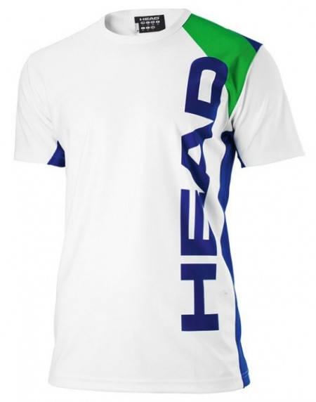 Мъжка Тениска HEAD Energy T-Shirt SS13 100841 811163-WHLT
