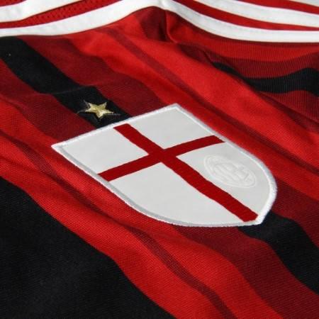 Официалната фланелка Милан MILAN Mens Home Shirt 14-15 501085  изображение 3