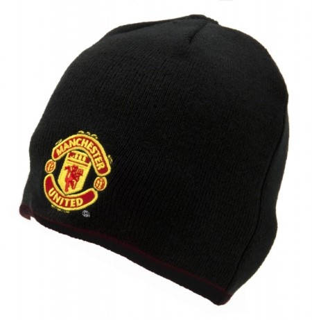 Зимна Шапка MANCHESTER UNITED Knitted Hat BLK 500869