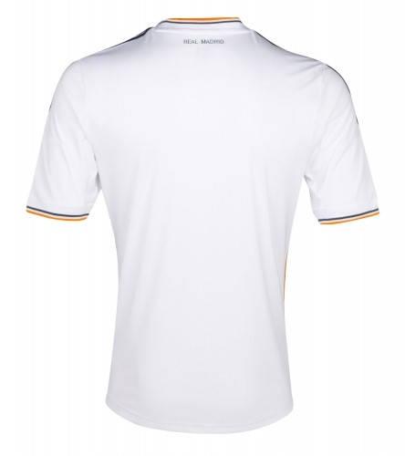 Официална Фланелка Реал Мадрид REAL MADRID Mens Home Shirt 13-14 500847  изображение 3