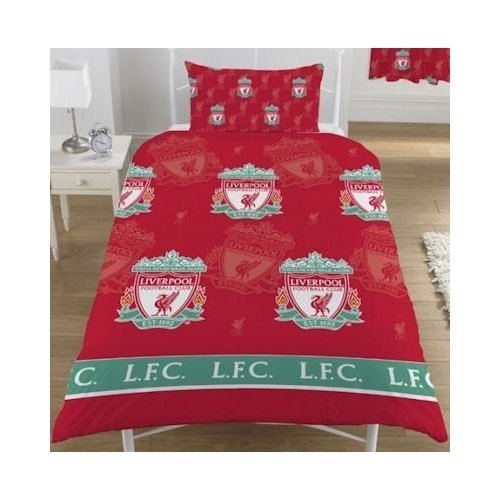 Спално Бельо LIVERPOOL Single Duvet Set Multi 500279a