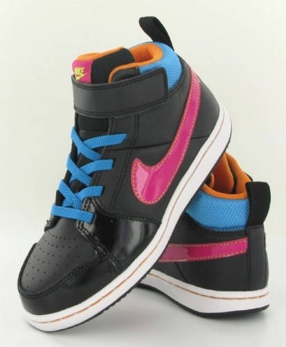 Бебешки Обувки NIKE Backboard 2 MID 300293 525651-003 - Ивко изображение 4