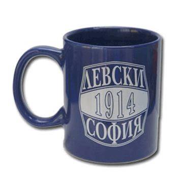 Чаша LEVSKI Ceramic Mug 500359