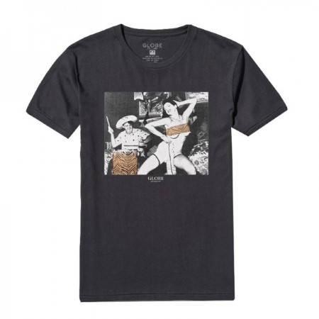 Мъжка Тениска GLOBE Two Wrongs Tee SS14 100761a 30308700706 - VINTAGE BLACK