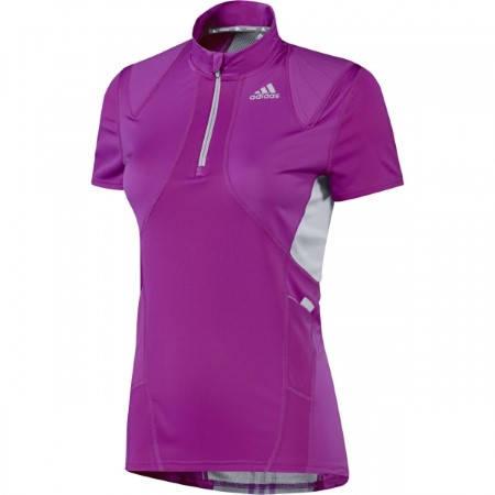 Дамска Тениска ADIDAS Maillot Trail Run 1/2 ZIP 200519 Z19612