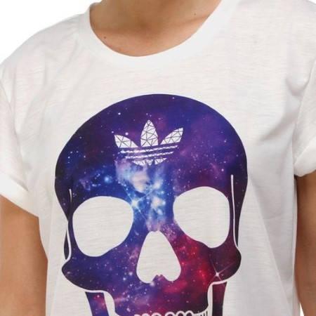Дамска Тениска ADIDAS Originals Ladies Skull T-Shirt 200604  изображение 5