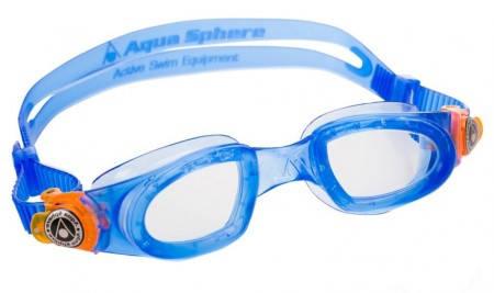 Детски Очила За Плуване AQUA SPHERE Moby Kid Clear Lens 402133 167890