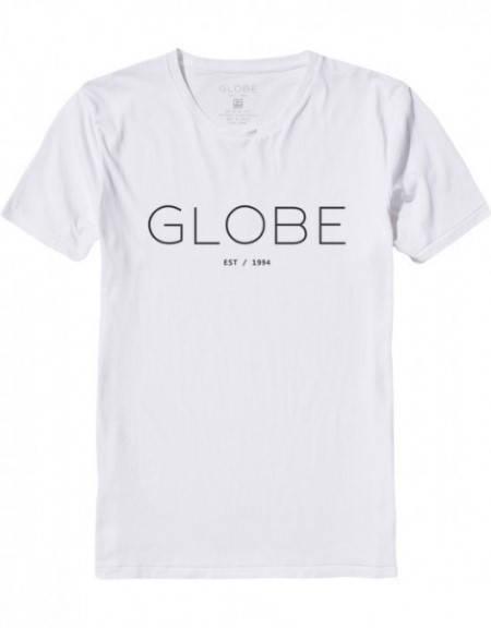 Мъжка Тениска GLOBE Phase Tee W13 100771a 30308700687 - WHT