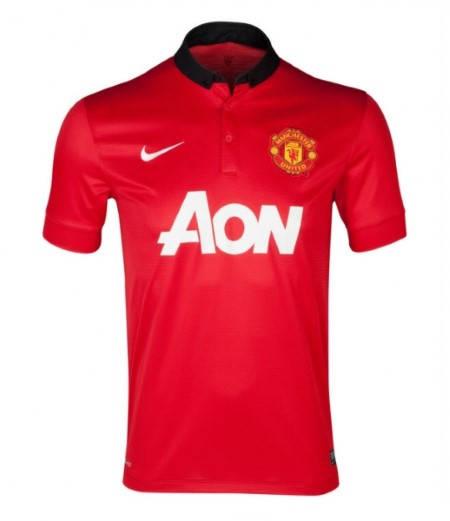 Мъжка Тениска NIKE Manchester United Mens Home Shirt 13/14 100646