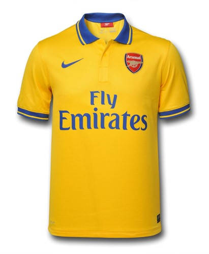 Мъжка Тениска NIKE Arsenal Mens Away Shirt 13/14 100641