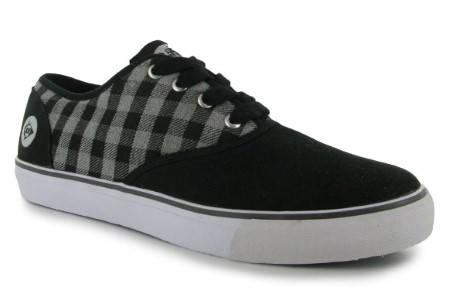 Мъжки Обувки DUNLOP Oxcheck Lace Up Mens Canvas Shoes 100538 2232