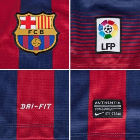 Мъжка Тениска NIKE Barcelona Mens Home Shirt 13/14 100642  изображение 4