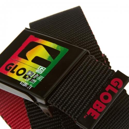 Колан GLOBE Method Web Belt S13 400665 30301500198 - BLACK/RED изображение 3