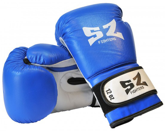 Боксови Ръкавици SZ FIGHTERS Leather Boxing Gloves 401613a