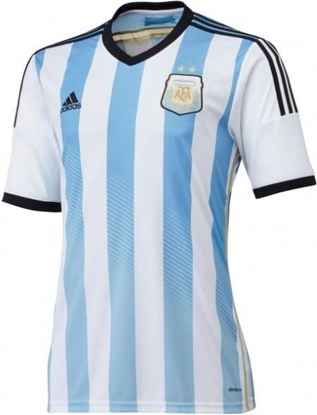 Официална Фланелка Аржентина ARGENTINA 2014 World Cup Home Kit 500977