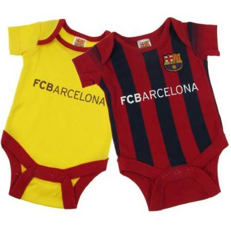 Бебешки Дрехи BARCELONA 2 Pack Bodysuit 9-12 mths 500495