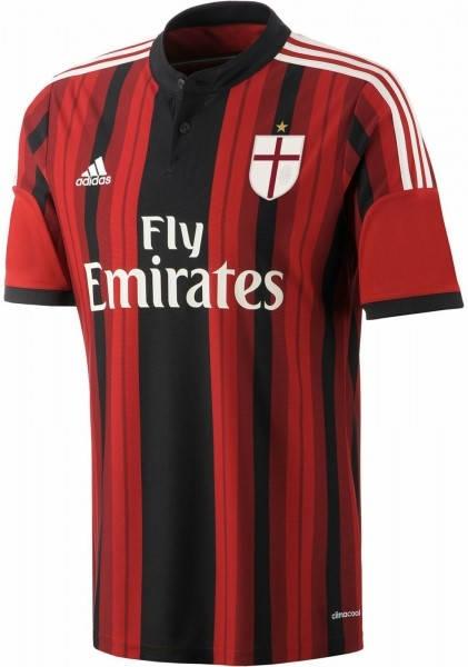 Официалната фланелка Милан MILAN Mens Home Shirt 14-15 501085