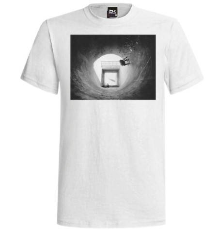 Мъжка Тениска DAKINE Tunnel Vision SS14 101027 30308700717-WHITE