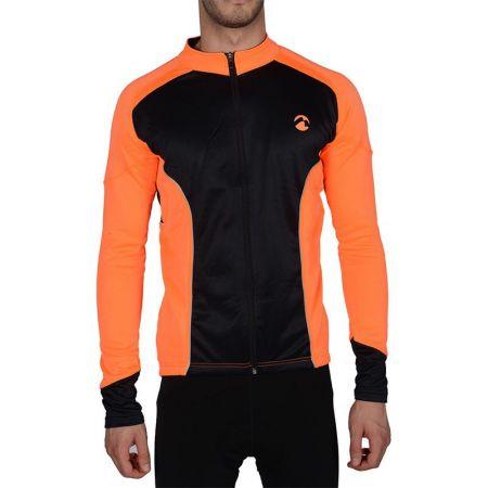 Мъжки Суичър MORE MILE Piu Miglia Thermal Long Sleeve Mens Cycling Jersey 508289  PM2214