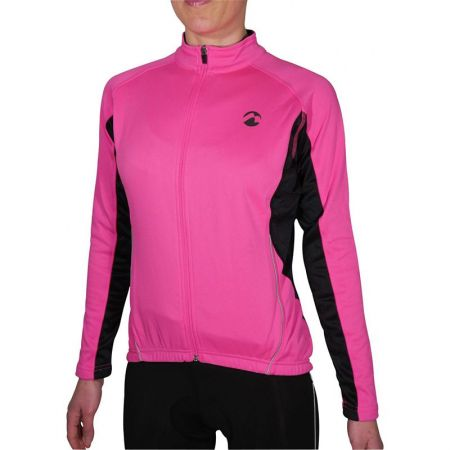 Дамски Суичър MORE MILE Thermal Long Sleeve Ladies Cycling Jersey 508628 PM2218