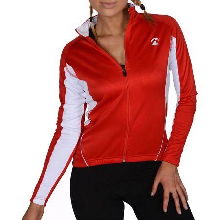 Дамски Суичър MORE MILE Thermal Long Sleeve Ladies Cycling Jersey