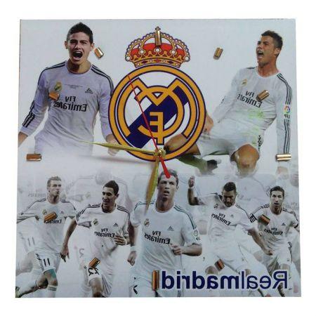 Стенен Часовник REAL MADRID Wall Clock Ronaldo and James PKS 500838