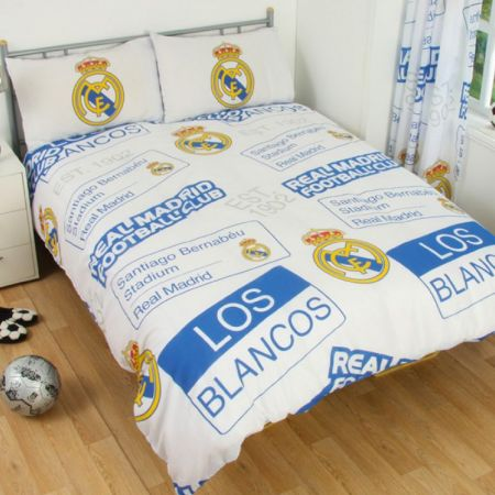 Спално Бельо REAL MADRID Double Duvet Set PT 500813 12130