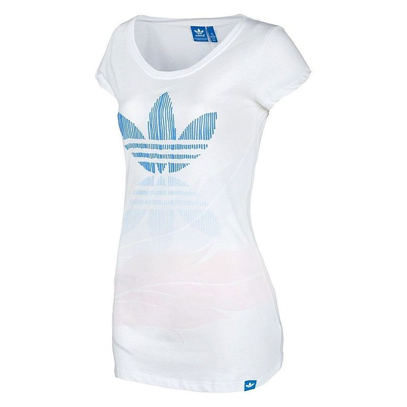 7d65171fc3f Дамска Тениска ADIDAS Originals Line Trefoil Print Ladies T-Shirt на ...