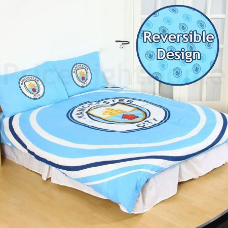 Спално Бельо MANCHESTER CITY Double Duvet Set PL 501264 h30ddum