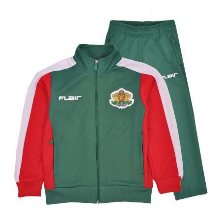 Детски Анцуг FLAIR Official Bulgaria Free TIme Tracksuit 512798 315009