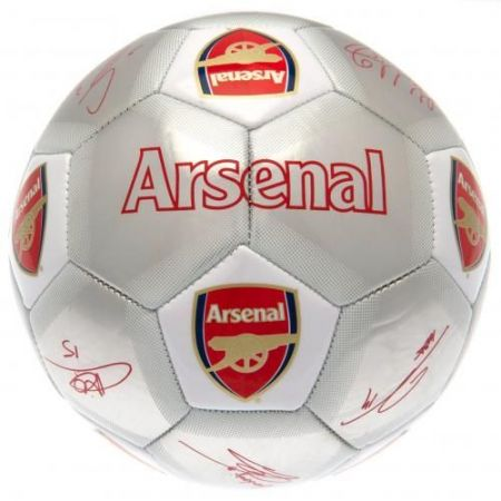 Топка ARSENAL Football Signature Silver 507800 f50fbsarssv