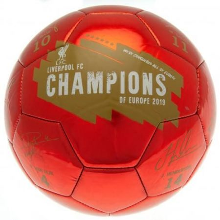 Топка LIVERPOOL Champions Of Europe Football Signature 507822 f50fbslivch