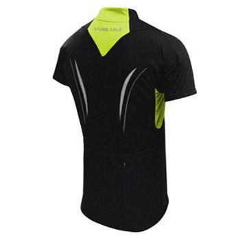 Мъжка Тениска MORE MILE Short Sleeve Mens Cycle Jersey 508498  MM1420 изображение 2