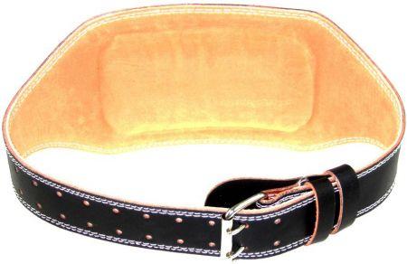 Кожен Колан За Фитнес MAXIMA Leather Fitness Belt 502857 910200 изображение 3