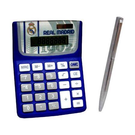Комплект Калкулатор С Химикал REAL MADRID Calculator & Pen Set 501338 9256