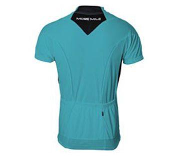 Мъжка Тениска MORE MILE Short Sleeve Mens Cycle Jersey 508430 MM1421 изображение 2