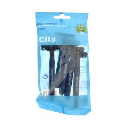 Самобръсначки MANCHESTER CITY Shaving Razors 5 pack 501013