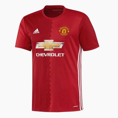Официална Фланелка Манчестър Юнайтед MANCHESTER UNITED Mens Home Shirt 16-17 504149