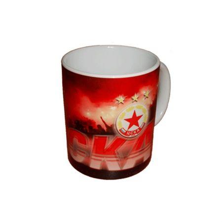 Чаша CSKA Ceramic Mug Fans 500354a