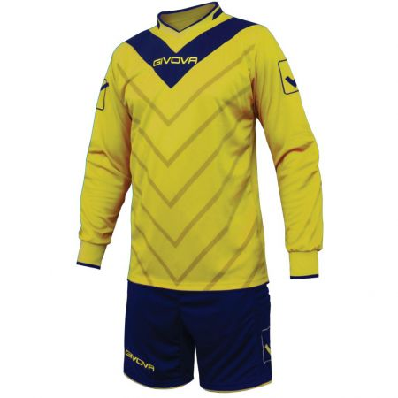 Вратарски Екип GIVOVA Goalkeeper Kit Sanchez ML 0704 504664 KITP005 изображение 4