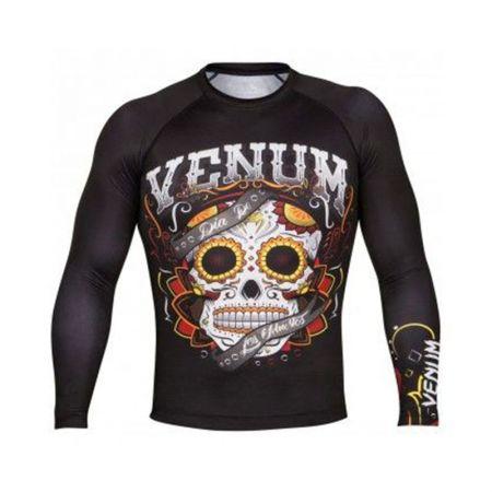 Мъжки Рашгард VENUM Santa Muerte 2.0 Rashguard Long Sleeves 508172