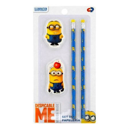 Ученически Пособия DESPICABLE ME 4Pc Stationery Set 501331