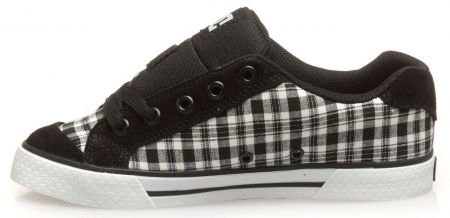 Дамски Кецове DC Chelsea TX SP Low-Top Shoes 503656 DC 00008 BLK&WHT изображение 2