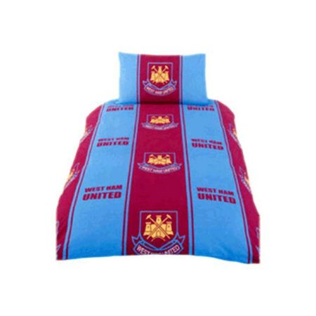 Спално Бельо WEST HAM UNITED Single Duvet Set 500297