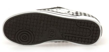 Дамски Кецове DC Chelsea TX SP Low-Top Shoes 503656 DC 00008 BLK&WHT изображение 4