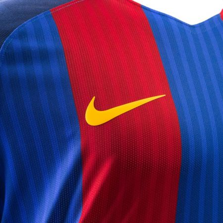 Официална Фланелка Барселона BARCELONA Mens Home Shirt 16-17 504131  изображение 4
