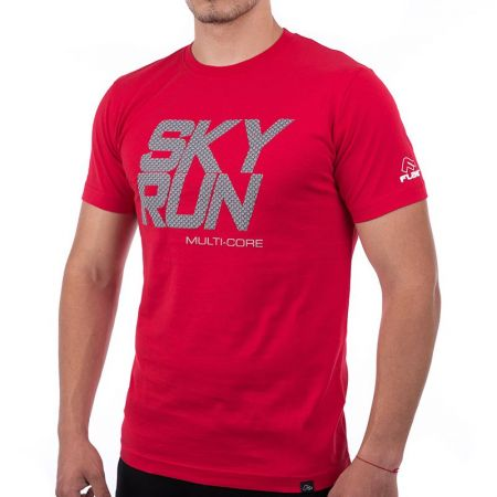 Мъжка Тениска FLAIR Multi Core Sky Run T-Shirt 515459 176172