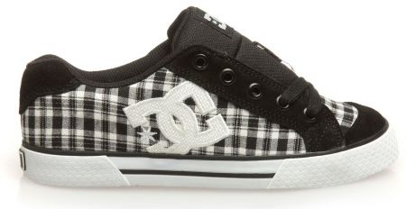 Дамски Кецове DC Chelsea TX SP Low-Top Shoes 503656 DC 00008 BLK&WHT