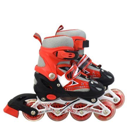 Детски Регулируеми Ролери MAXIMA Adjustable Rollers 502641 200102-Red