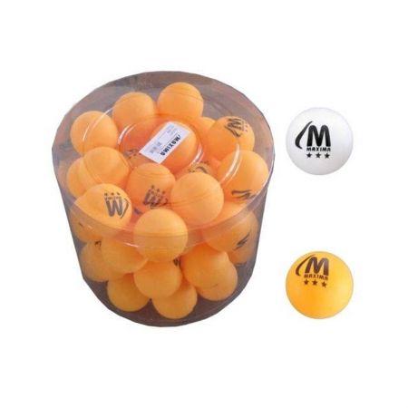 Топчета За Тенис На Маса MAXIMA Balls For Table Tennis 50 Pcs 502190 200301-Оrange